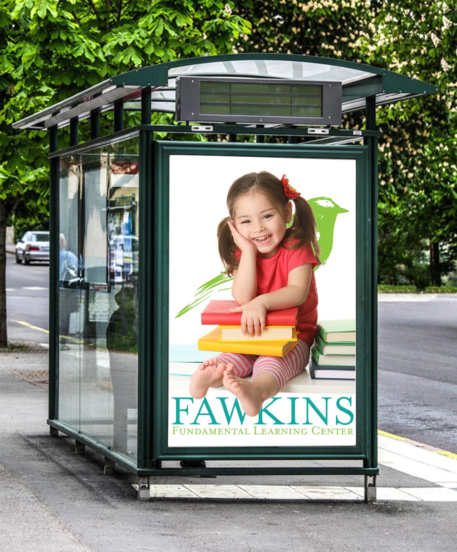fawkinschildrenadvertisementbusstop
