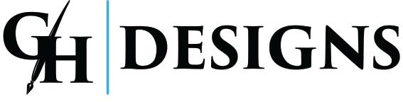 GH DESIGNS Logo